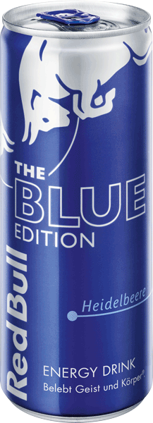 Red Bull Blue Edition - Heidelbeere